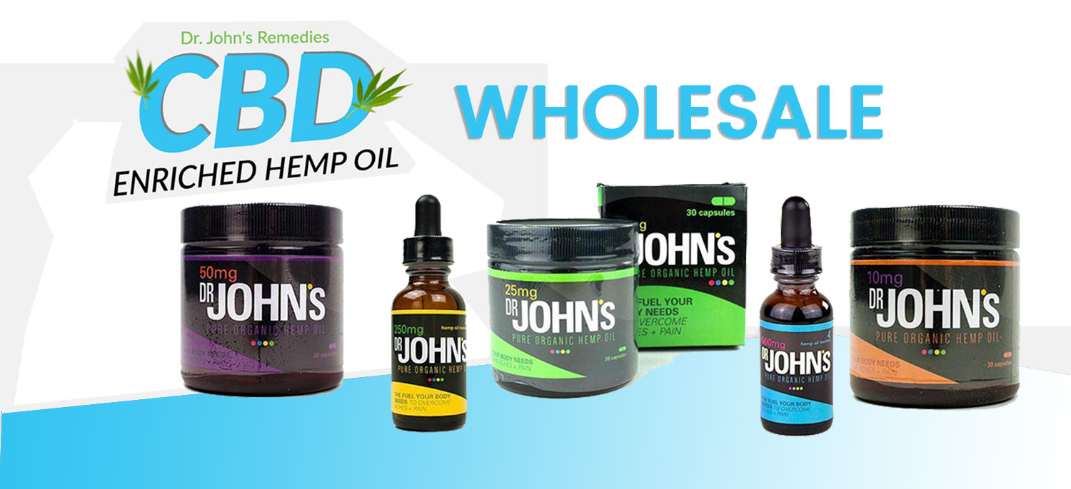 Dr. John's Hemp Remedies Wholesale | Wholesale-Dr-Johns